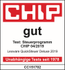 Chip test Quicksteuer Deluxe 2019